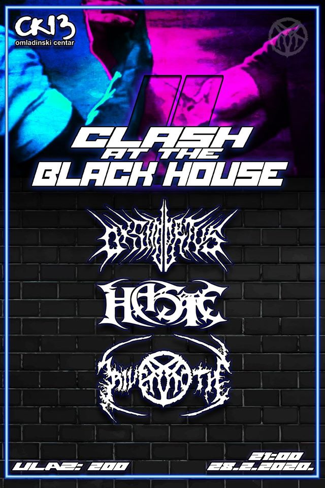 Clash at black house 2