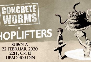 Shoplifters Concrete Worms